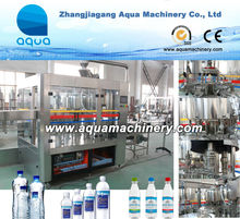 Complete Small Bottle Washing Filling Capping Machine/Bottled Water Washing Filling Capping Line 3 in 1