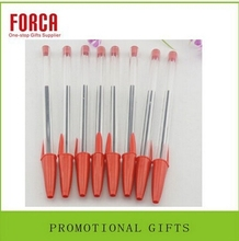 stationery products hotsell customized plastic promotional gel ball pen