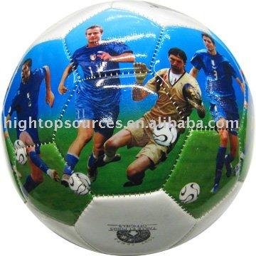نجمة / صورة كرة القدم الكرة لتعزيز