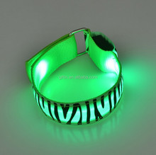 hot items Remote Controlled LED Wristband With Customized Logo For Night Club, Pubs, Concert, Holidays wristband with led