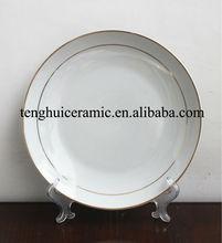 Ceramic Set Round Dinner Plate New Year Tableware