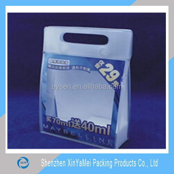 factory directly price pvc bag shower gel packaging
