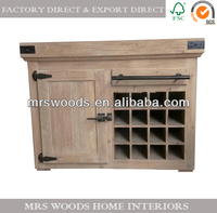 reclaimed wooden hutch