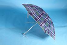 manufacturer UV protection four fold manual 20inch 8ribs umbrella