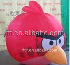 advertising inflatable cartoon bird/inflatable air cartoon bird toy for kids