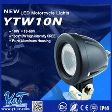 Y&T unique motorcycle accessories 10 watt led driving head/front light from China factory