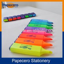 Marcador resaltador/rotulador multicolor