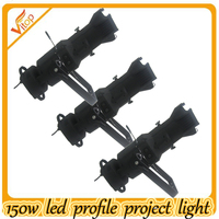 Pro light Theater & Tv & stage & studio 150W CMY ellipsoidal led profile spot light with DMX