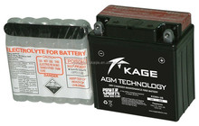 KGM3-3B 12V 3Ah Lead acid low maintenannce free YTX dry charged scooter motorcycle battery high capacity battery