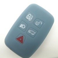 remote control silicone cover for land rover key case