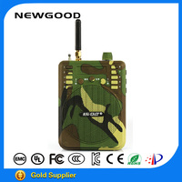 2015 hot sale camouflage remote control bird calling device,animal sounds megaphone