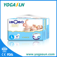 Magic Tape Cloth-Like Breathable Disposable Baby Diaper