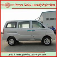 Euro IV Standard 8 Seats Gasoline Passenger Van