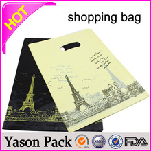 Yason sublimation printed pet shopping bag paper shopping bag waterproof plastic shopping bag
