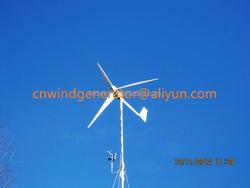 SMALL WIND TURBINE MANUFACTURE: 1KW small wind turbine kit, aerogenerator 1kw wind energy generator permanent magnet