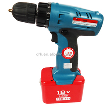 hot sale workshop tools 22N.M 18V battery cordless drill for industry alibaba trusted supplier