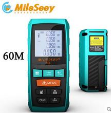 Outdoor Measuring 60m distance meter measurer Angle Tester tool Laser rangefinder