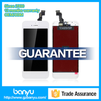 Hotsale lcd touch with digitizer assembly for iphone 5c replacement screen