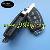 High quality 3 button flip remote key shell for hyundai IX35 car key Hyundai car keys