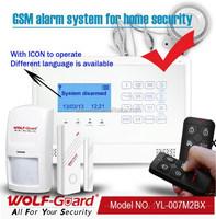 New wolf-guard APP Burglar wireless safety gsm alarm Alarmanlage(YL-007M2BX)14