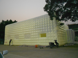 LED inflatable disco tent