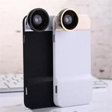 Novelty Fisheye Lens Universal Wide Angle Micro Lens Phone Camera Lenses Cell Phone Case