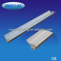 Double fluorescent light fixture cover 2x18/20w,2x36/40w,2x58/65w