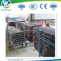 High Efficiency Solar Vacuum Tube 58*1800mm Solar Water Heater Spare Parts Three Elements Evacuated Glass Tubes