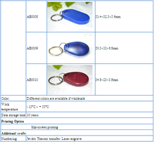 LF tk4100 key fob special offer FOR HOTEL