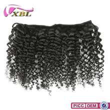 Gold Supprier Thick End Clip In Hair Extensions For Children