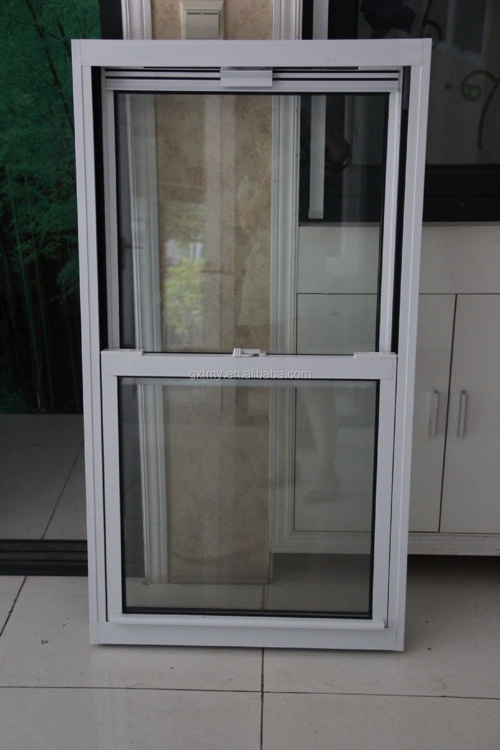 Easy Clear American Style Double Hung Window Design View