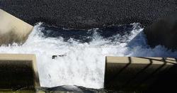 hollow plastic balls ~ plastic black ball cover water ~ deep water port