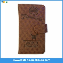universal pu leather flip mobile phone cover case for samsung galaxy grand