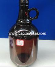 1L 2L 3L 4L amber beer bottles amber beer growler bottle