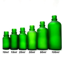 Essential Oil Bottles (cap,dropper,brush for choose)