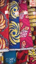 De manga larga batik / vintage telas / ankara cera tela africana de impresión