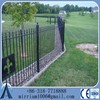 Hot sale cheap prices decorative steel garden fence