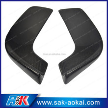 2PCS Front Bumper Spoiler Wing Carbon Fiber Universal Fit To All cars