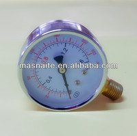 low price durable dry u tube pressure gauge