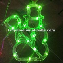 Provide energy saving long life service led snowman light