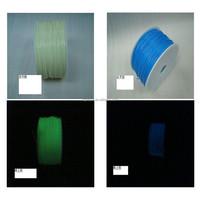 3mm /1.75mm ABS 3D printer filament, ABS -Glow In Dark