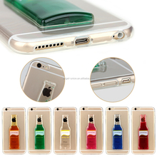 Professional!! Clear Cocktail Case for iPhone 6 Liquid Case, Hard Case
