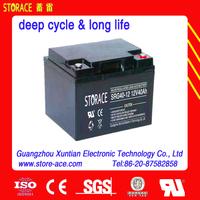 12v 40ah gel battery long life battery