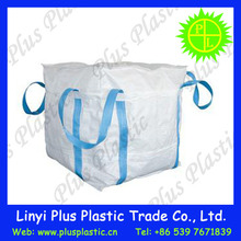 2 ton bag packing for iron ore, fully lifting belt bag