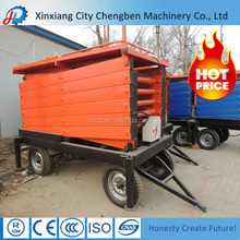 stable unit manual scissor jack / Chinese scissors lifts