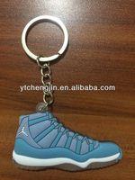New color aj 11 air jordan shoe keychain