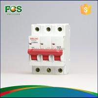 Delixi Electrical MCB Circuit Breaker 63A 3P