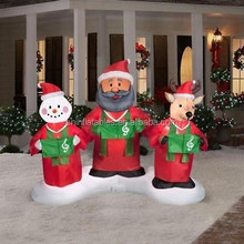 2014 new hotsale China party products handmade wed yard inflatable ornament wholesale Christmas decor