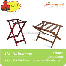 wooden tray stands