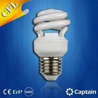 grow light Energy Saving lamp CFL bulb T2 Half Spiral 11W E27 CFL